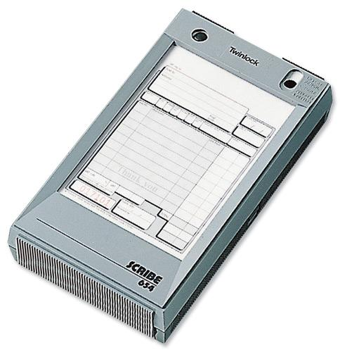 Image for Twinlock Scribe 654 Counter Sales Receipt Business Form 3-Part 165x102mm Ref 71301 [Pack 75]