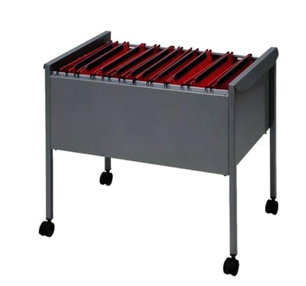 Rexel Suspension Filing Trolley for 100 Files Grey