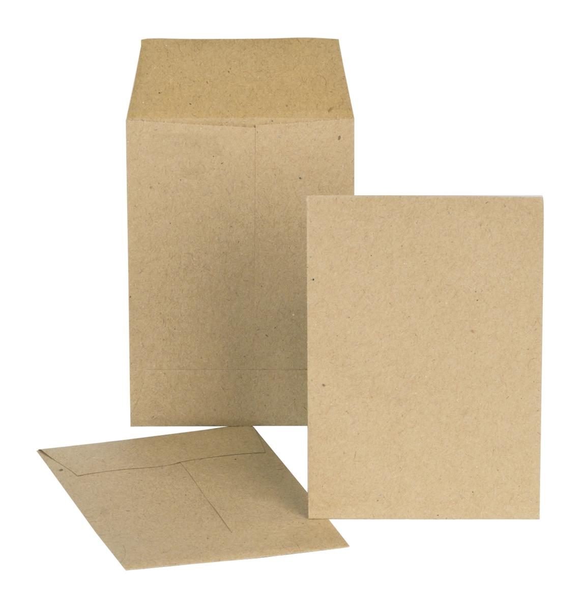 New Guardian Envelopes Lightweight Pocket Gummed 80gsm Manilla 98x67mm [Pack 2000]