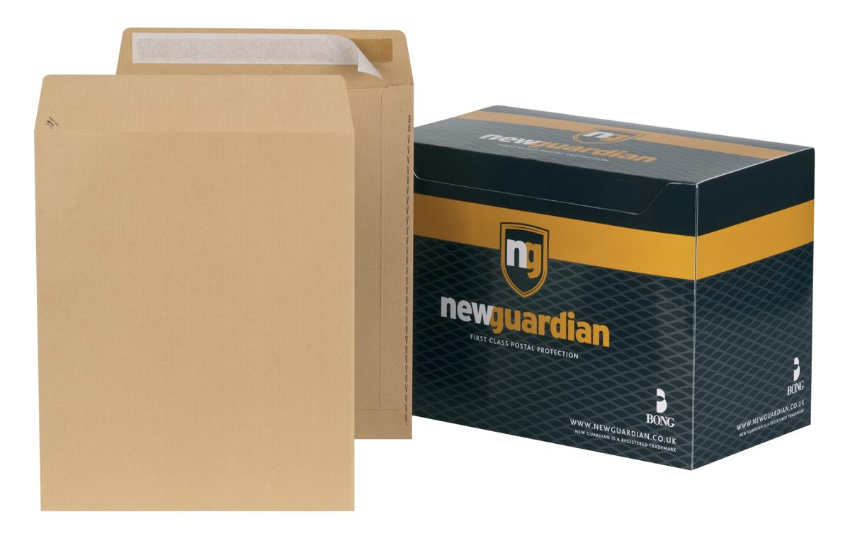 Image for New Guardian Envelopes Heavyweight Pocket Peel and Seal Manilla 305x250mm [Pack 250]
