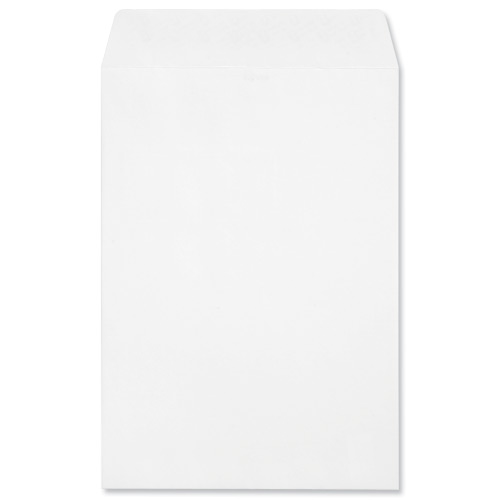 Image for Croxley Script Envelopes Pocket Peel and Seal Pure White C4 [Pack 250]