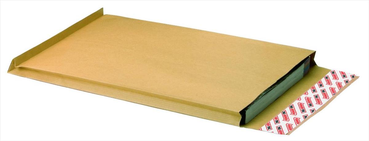 Image for New Guardian Envelopes Heavyweight Peel and Seal Gusset 25mm 130gsm Manilla C4 [Pack 100]