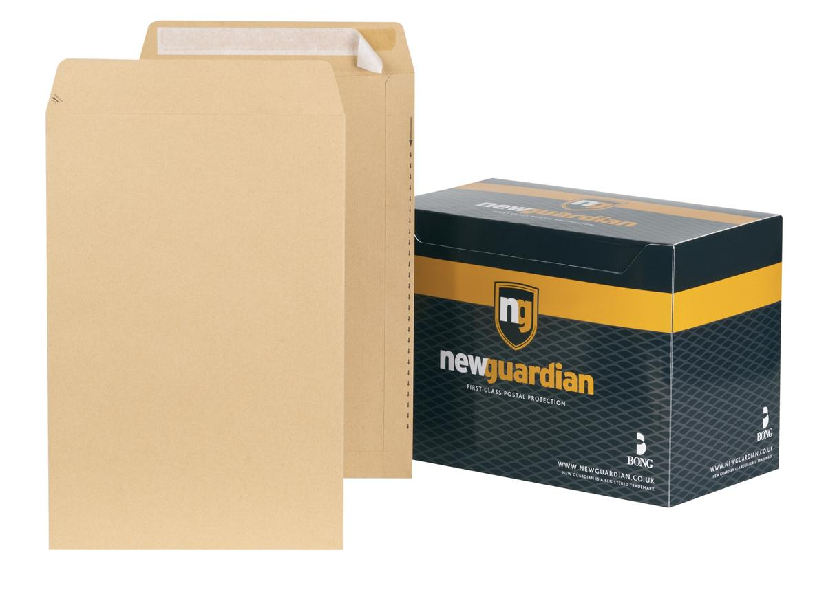 Image for New Guardian Envelopes Heavyweight Pocket Peel and Seal Manilla 381x254mm [Pack 125]