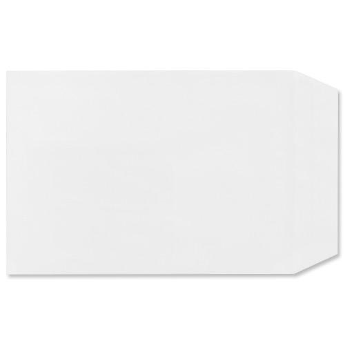 Image for Plus Fabric Envelopes Pocket Press Seal 110gsm C5 White Ref D26170 [Pack 500]