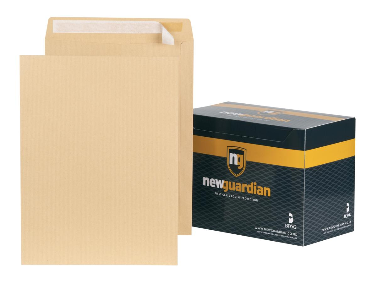 Image for New Guardian Envelopes Heavyweight Pocket Peel and Seal Manilla 406x305mm [Pack 125]