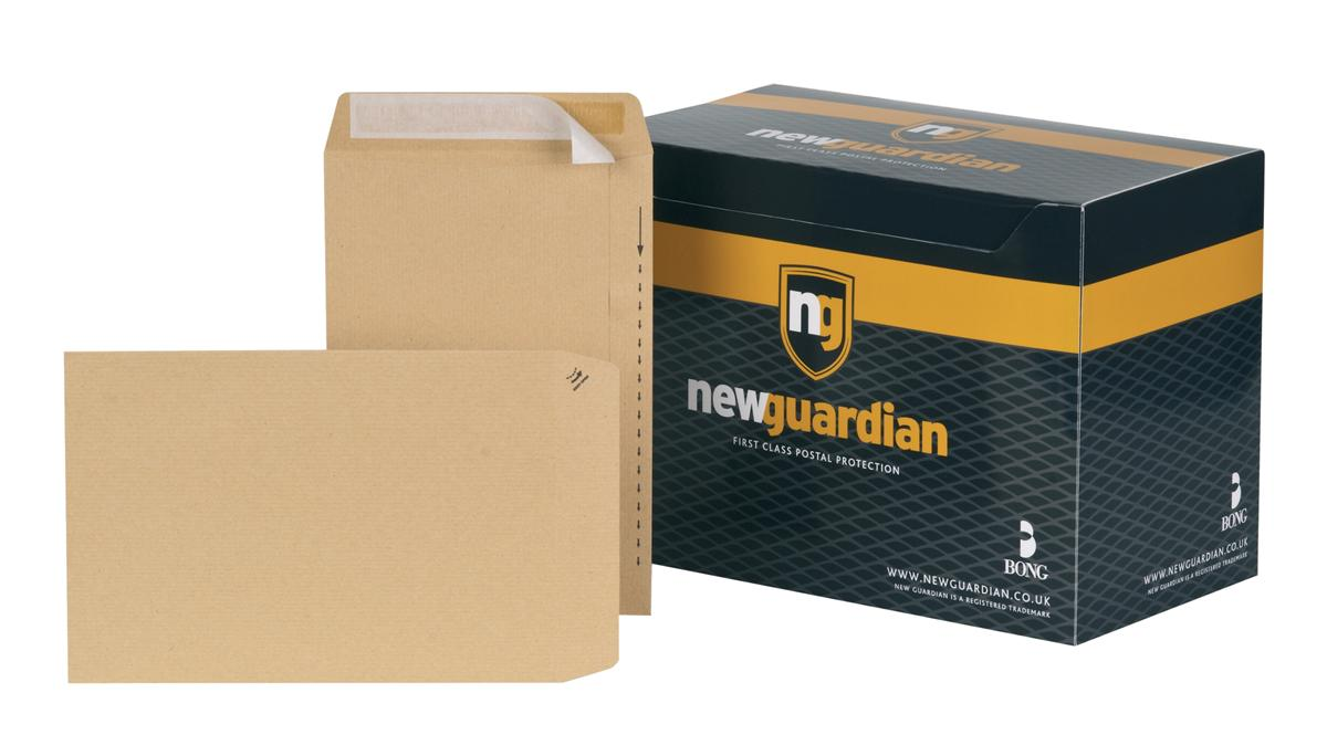 Image for New Guardian Envelopes Heavyweight Pocket Peel and Seal Manilla 10x7in [Pack 250]