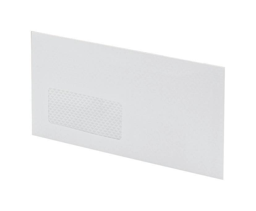 Image for Postmaster Envelopes Wallet Gummed with Window 90gsm White DL [Pack 500]