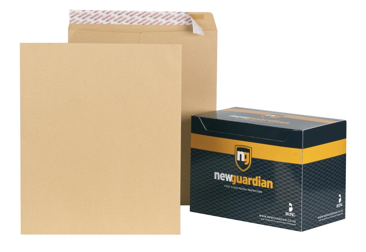 Image for New Guardian Envelopes Heavyweight Pocket Peel and Seal Manilla 444x368mm [Pack 125]
