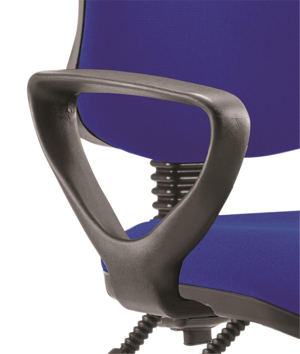 Trexus Fixed Chair Arms Black [Pair]