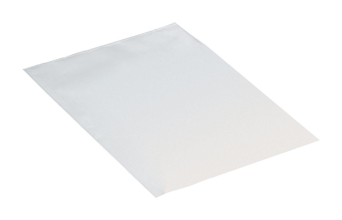 Image for Polybags Polythene Lightweight 120 Gauge 500x750mm Transparent [Pack 500]