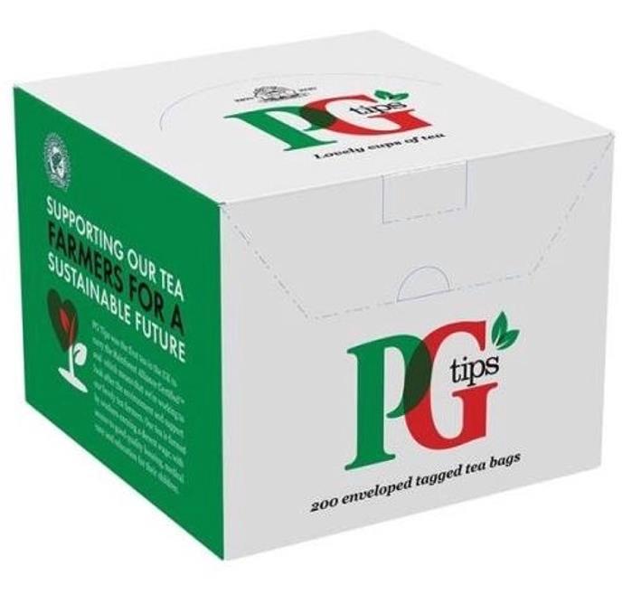 PG Tips Tea Bags Envelopes Ref 1845 [Pack 200]