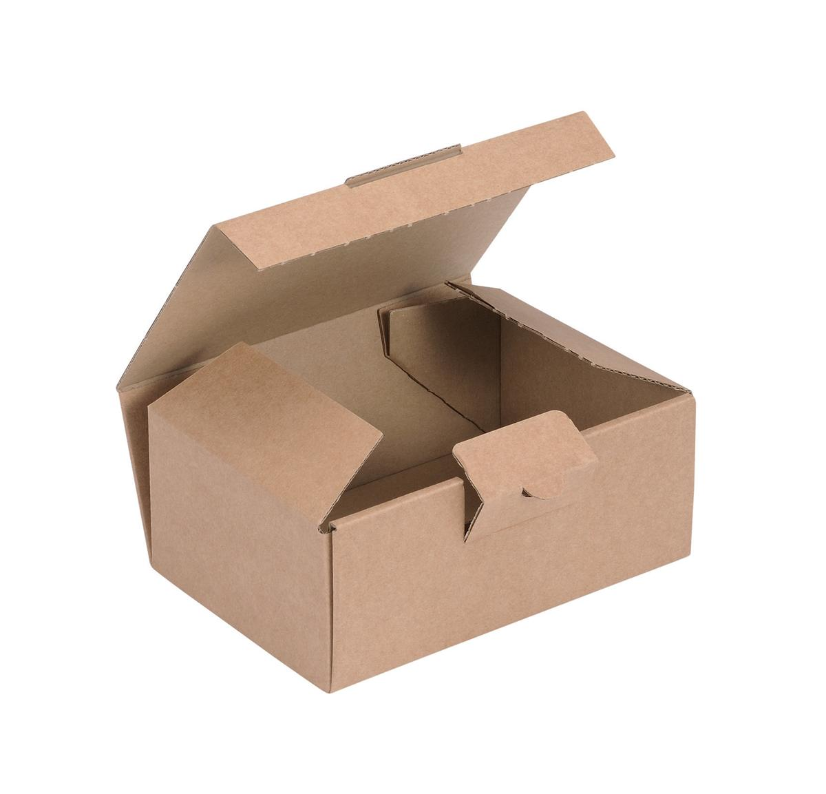 Image for Easi Mailer Kraft Mailing Box W160xD110xH64mm Brown [Pack 20]