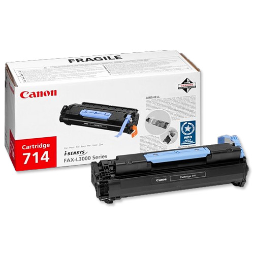 Canon CRG-714 Laser Toner Cartridge Page Life 4500pp Black Ref 1153B002