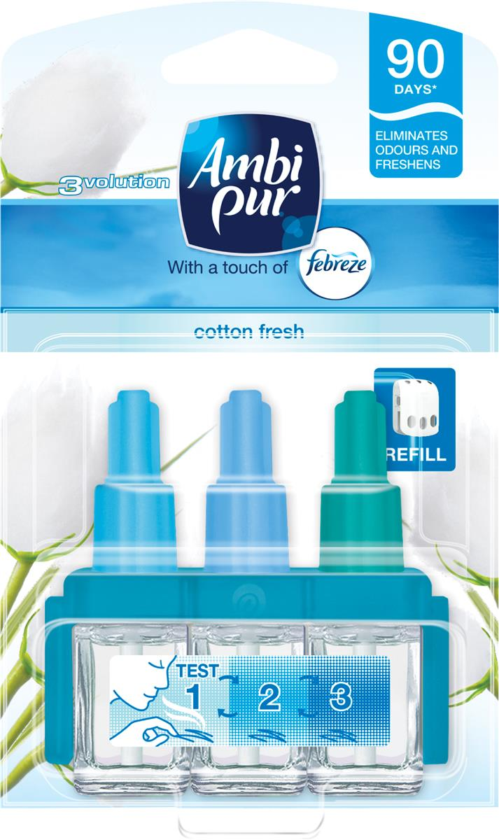Ambi Pur 3volution Refill for Fragrance Unit Cotton Fresh Ref 1008262