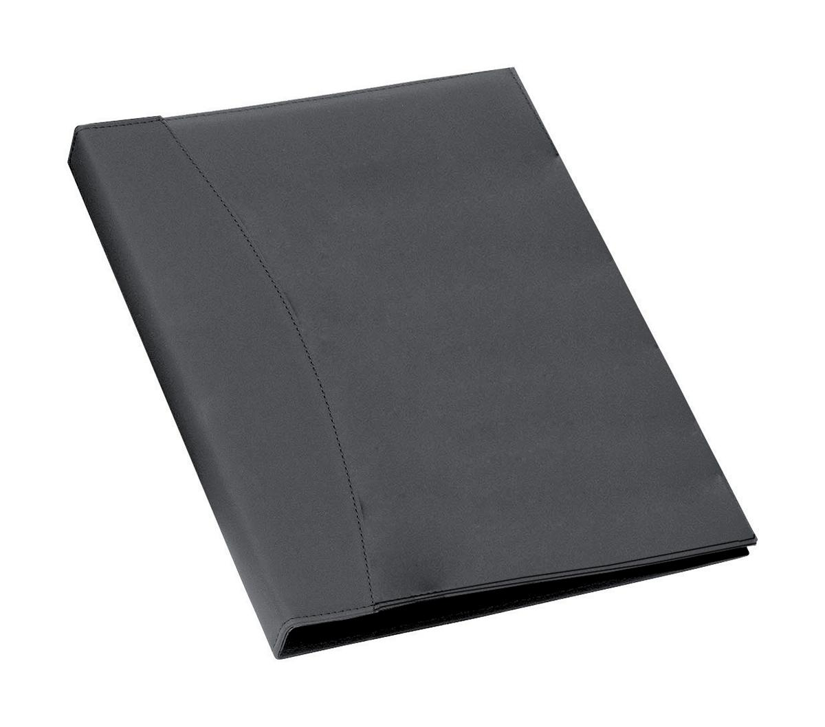 Image for Rexel Display Book Soft Touch 24 Pockets with Cover Smooth Black Ref 2101185