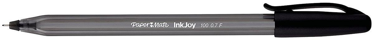 Image for Paper Mate Inkjoy 100 Fineliner Pen Black Ref 1956714 [Pack 4]