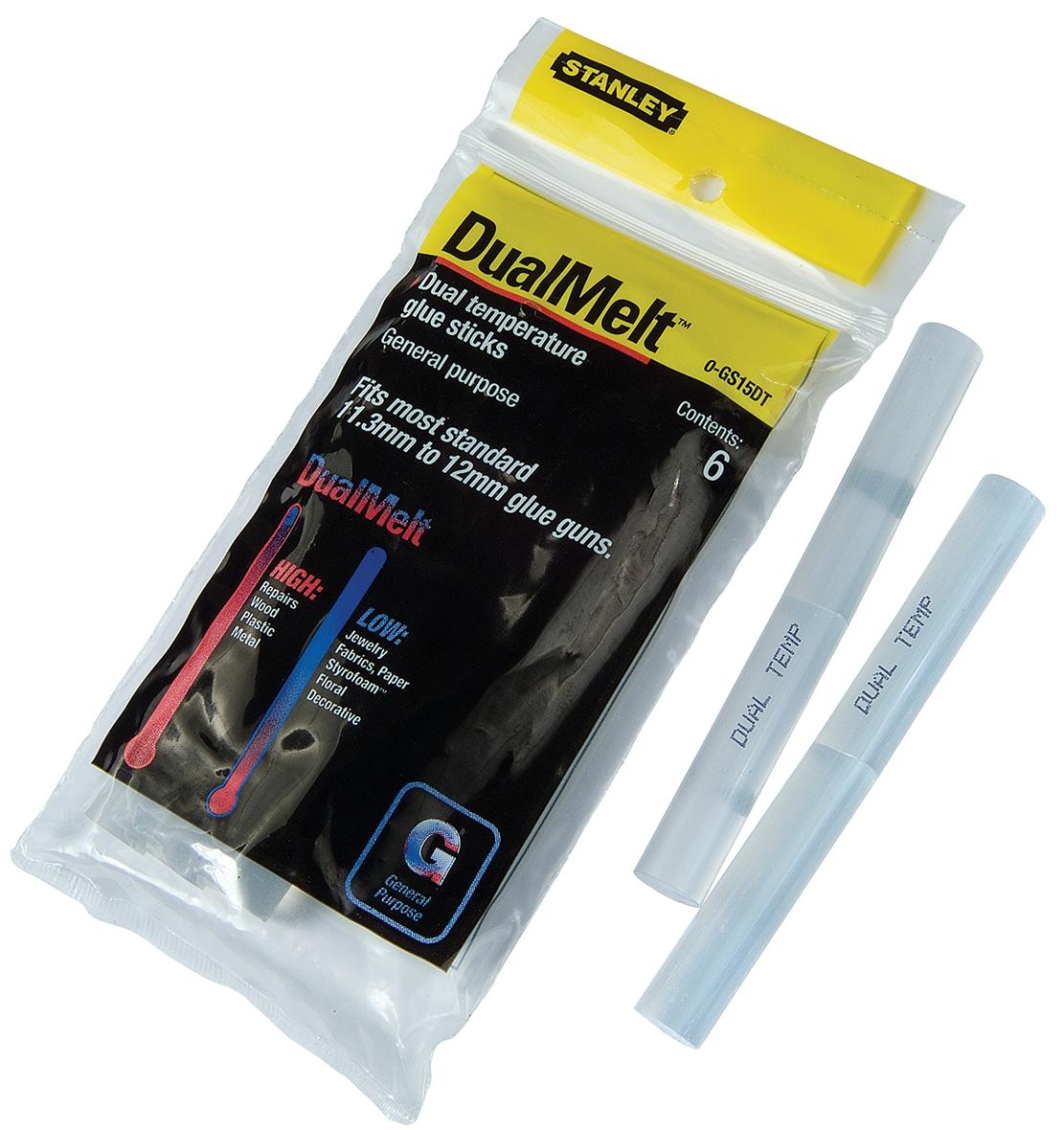 Stanley General All Purpose Glue Sticks 11.3mmx101mm Ref 1-GS15DT [Pack 6]