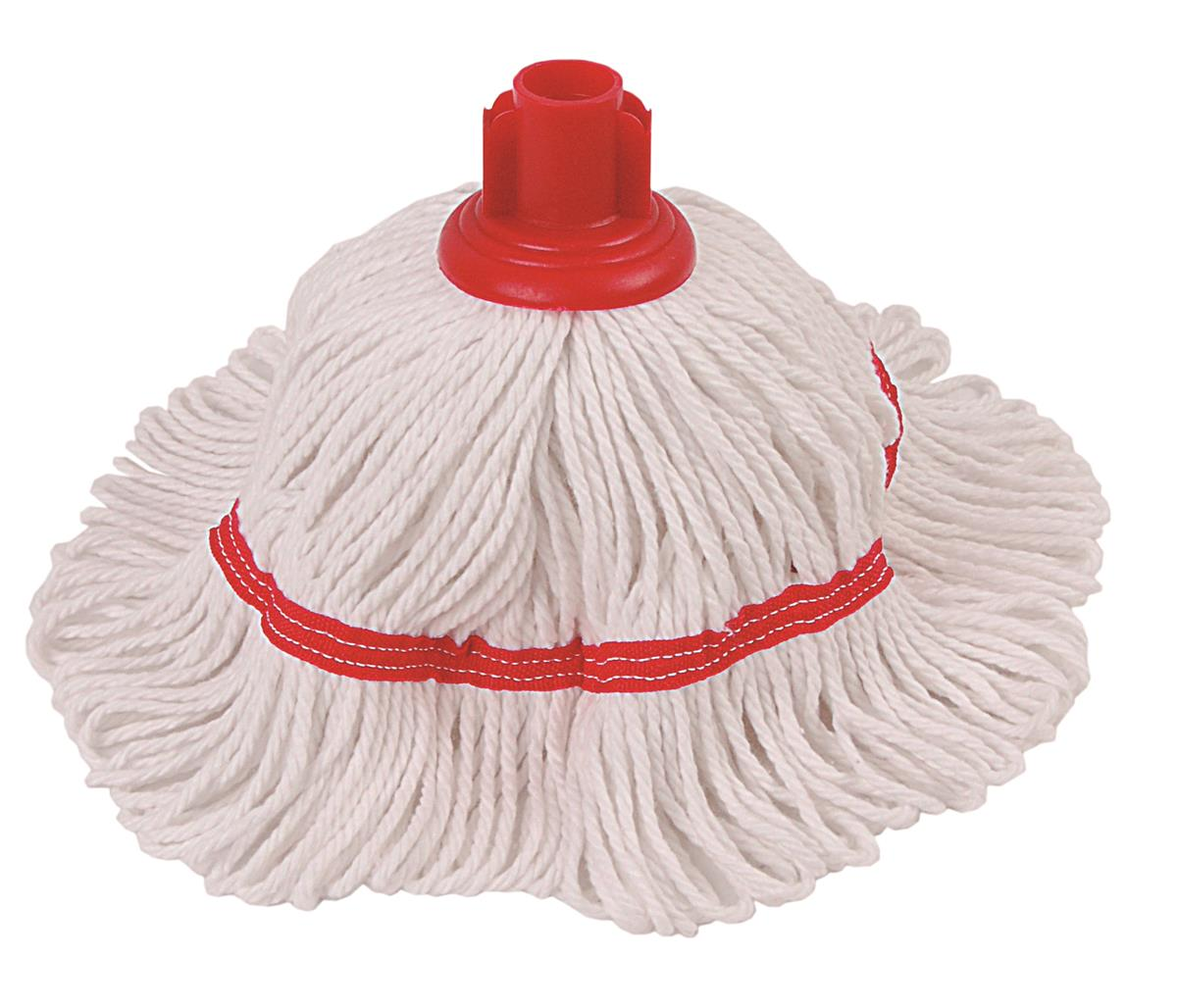 Robert Scott & Sons Hygiemix T1 Socket Mop Cotton & Synthetic Yarn Colour-coded 200g Red Ref 103062RED