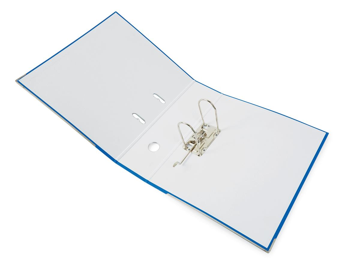 Image for Jumbo Lever Arch File A4 Secure Locking Mechanism 85mm Capacity W93xD282xH320mm Blue