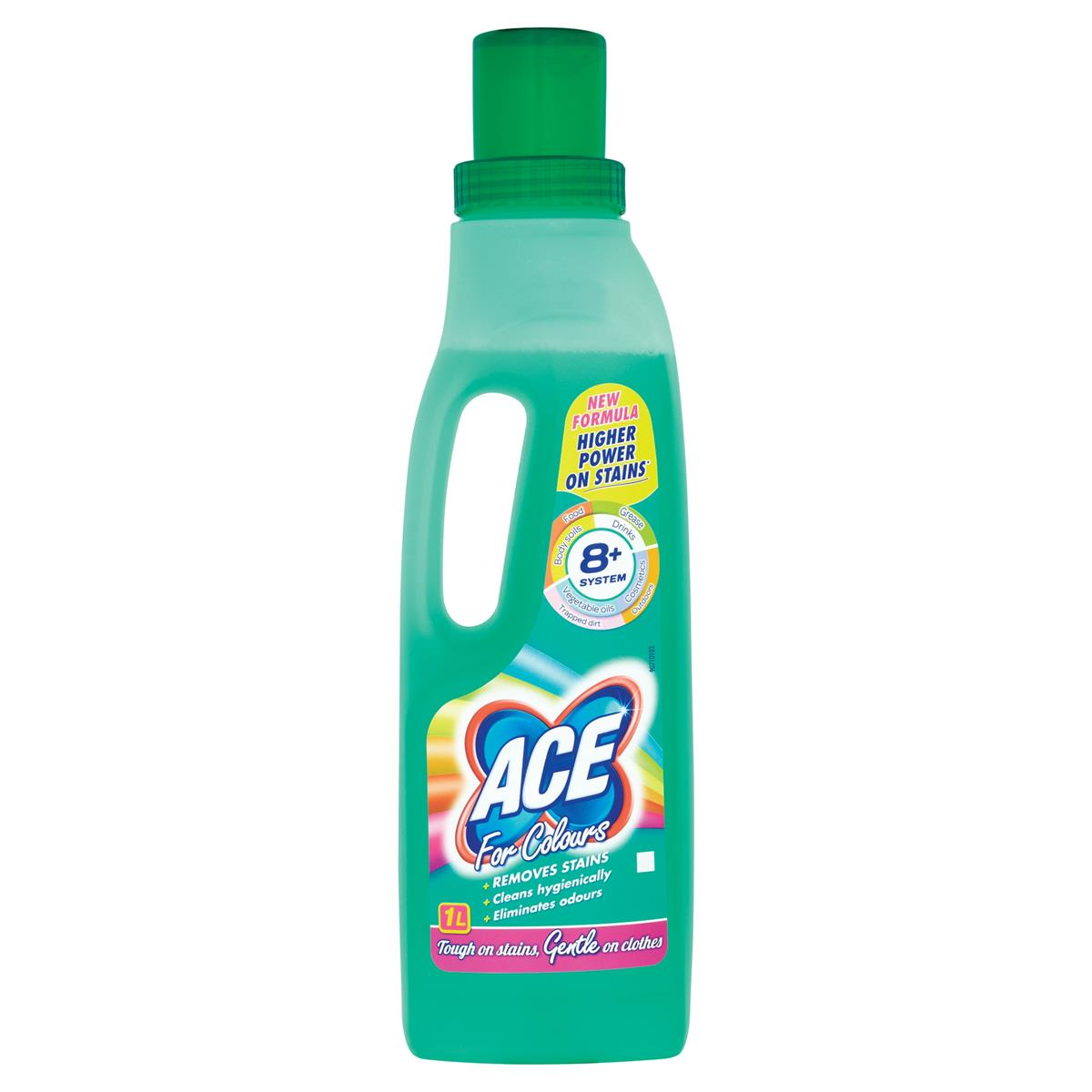 Image for Ace Gentle Stain Remover 1 Litre Ref 10277