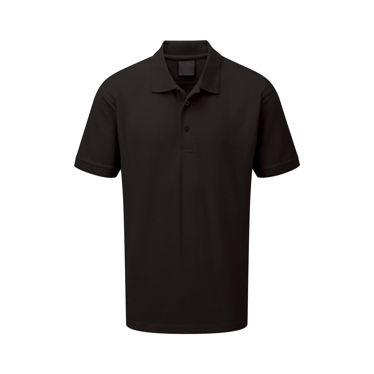 Polo Shirt Classic Polycotton Small Black 1-3 Days Lead Time