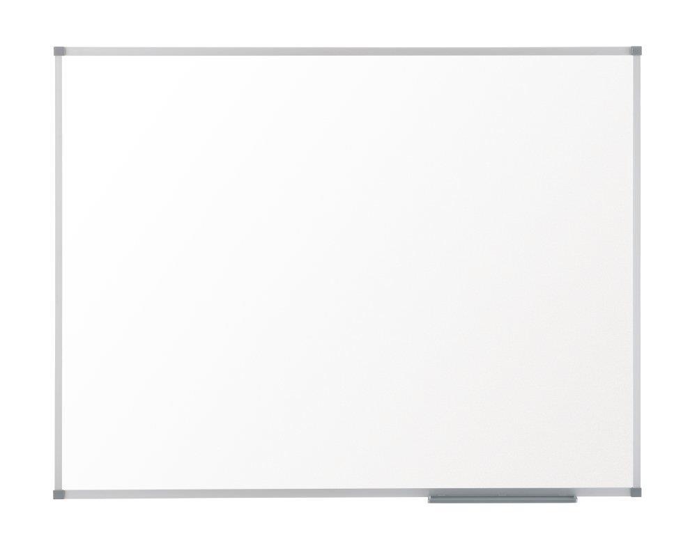 Nobo Prestige Enamel Whiteboard Magnetic Fixings Included W1800xH900mm White Ref 1905222