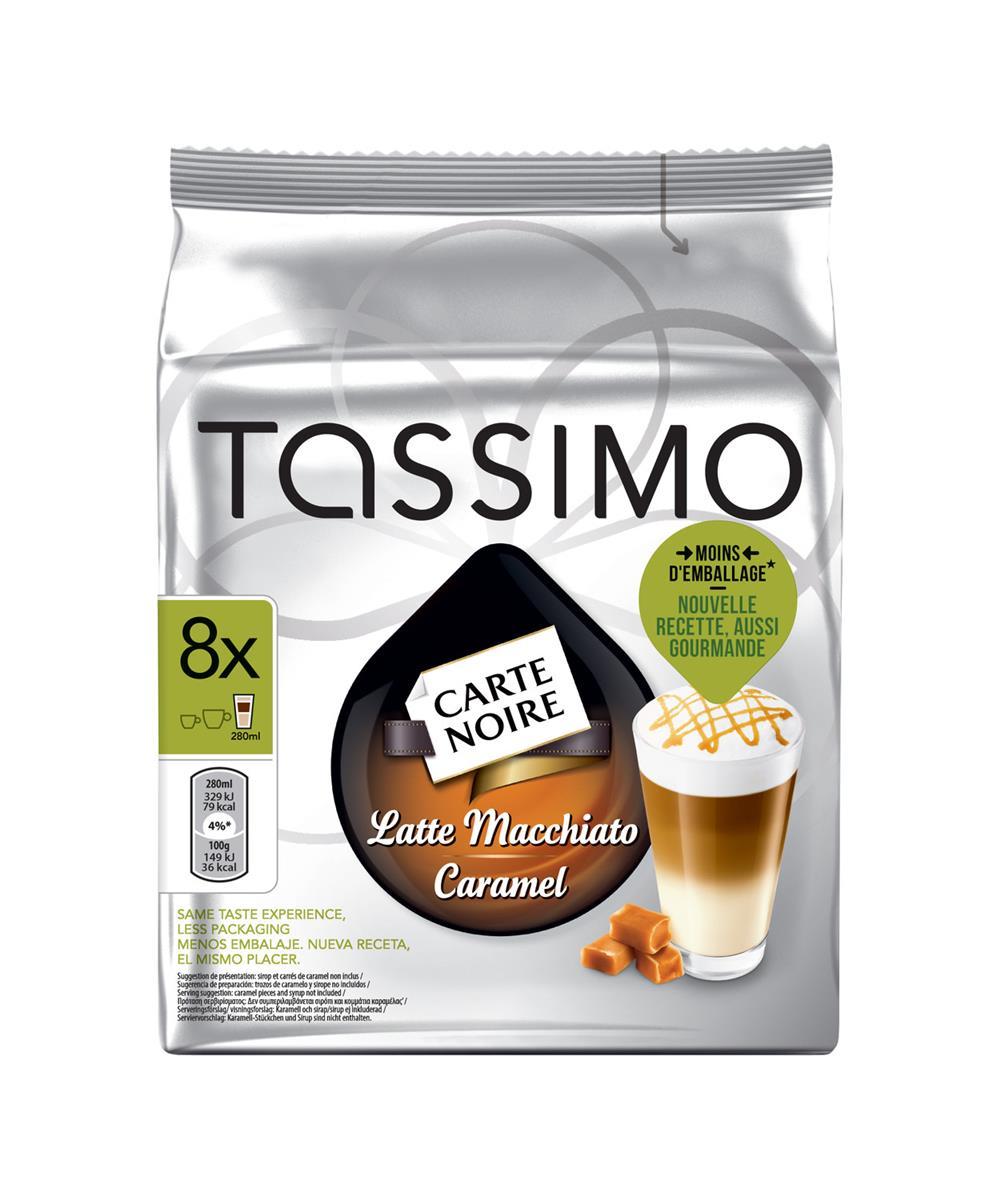 Tassimo Carte Noire Latte Macchiato Caramel Ref 343364 [Pack 5]