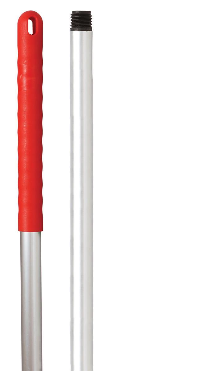 Robert Scott & Sons Abbey Hygiene Mop Handle Aluminium Colour-coded Screw Fitting 137cm Red Ref YYAR07