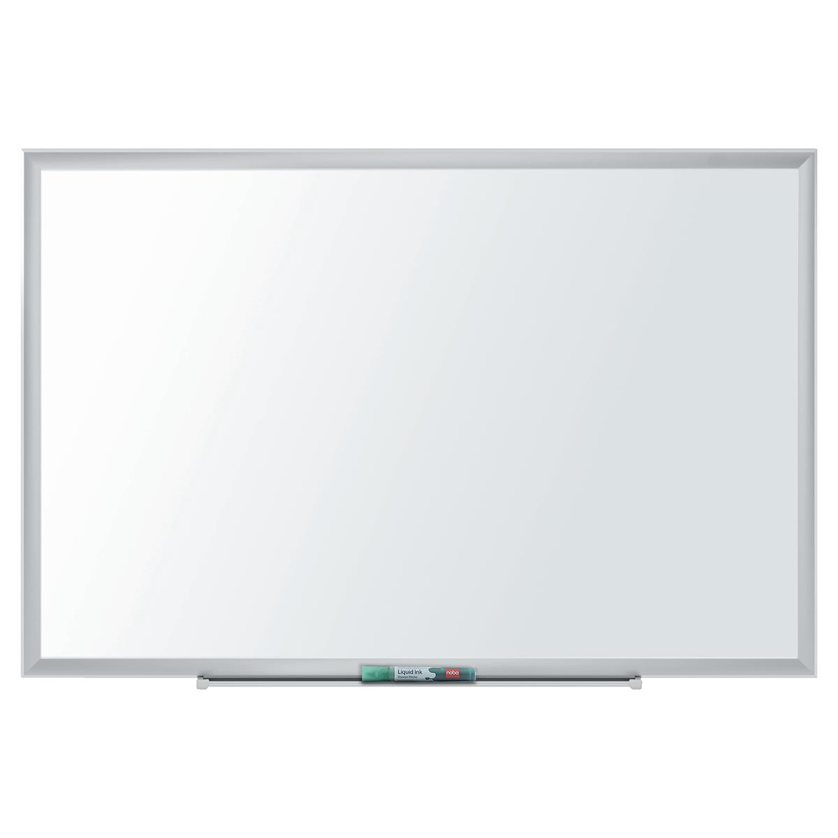 Nobo Nano Clean Steel Whiteboard Magnetic Exclusive Nano Clean Surface W900xH600mm White Ref 1905167