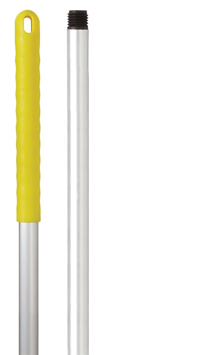 Robert Scott & Sons Abbey Hygiene Mop Handle Aluminium Colour-coded Screw Fitting 125cm Yellow Ref YYAY08