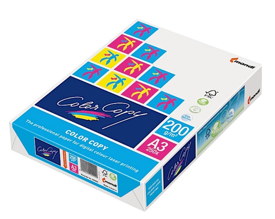 Image for Color Copy Copier Paper Premium Super Smooth 200gsm A3 White Ref COLA3200 [250 Sheets]
