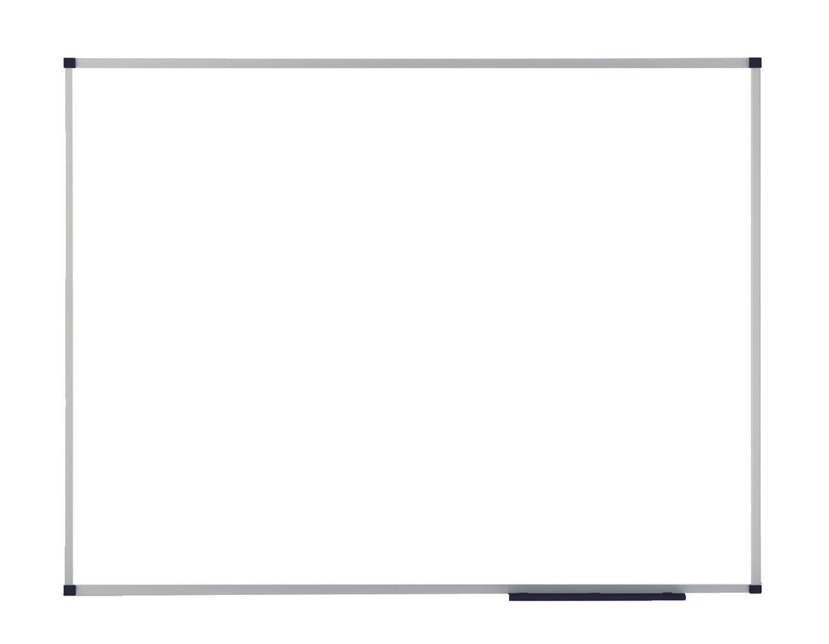 Nobo Prestige Enamel Eco Whiteboard Magnetic Fixings Included W1200xH900mm White Ref 1905236
