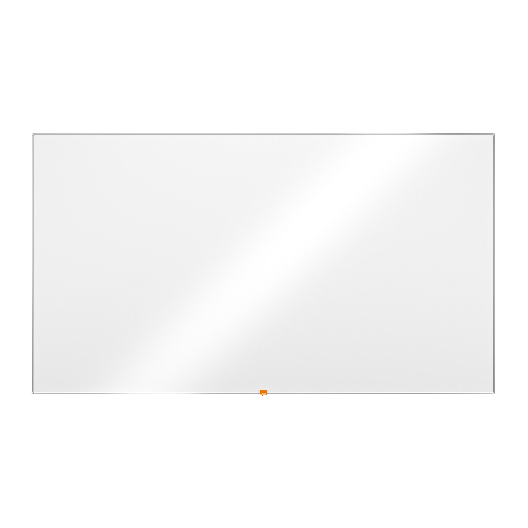 Dry erase boards or accessories Nobo Enamel Whiteboard Widescreen 85in Magnetic 1880x1060mm Ref 1905305