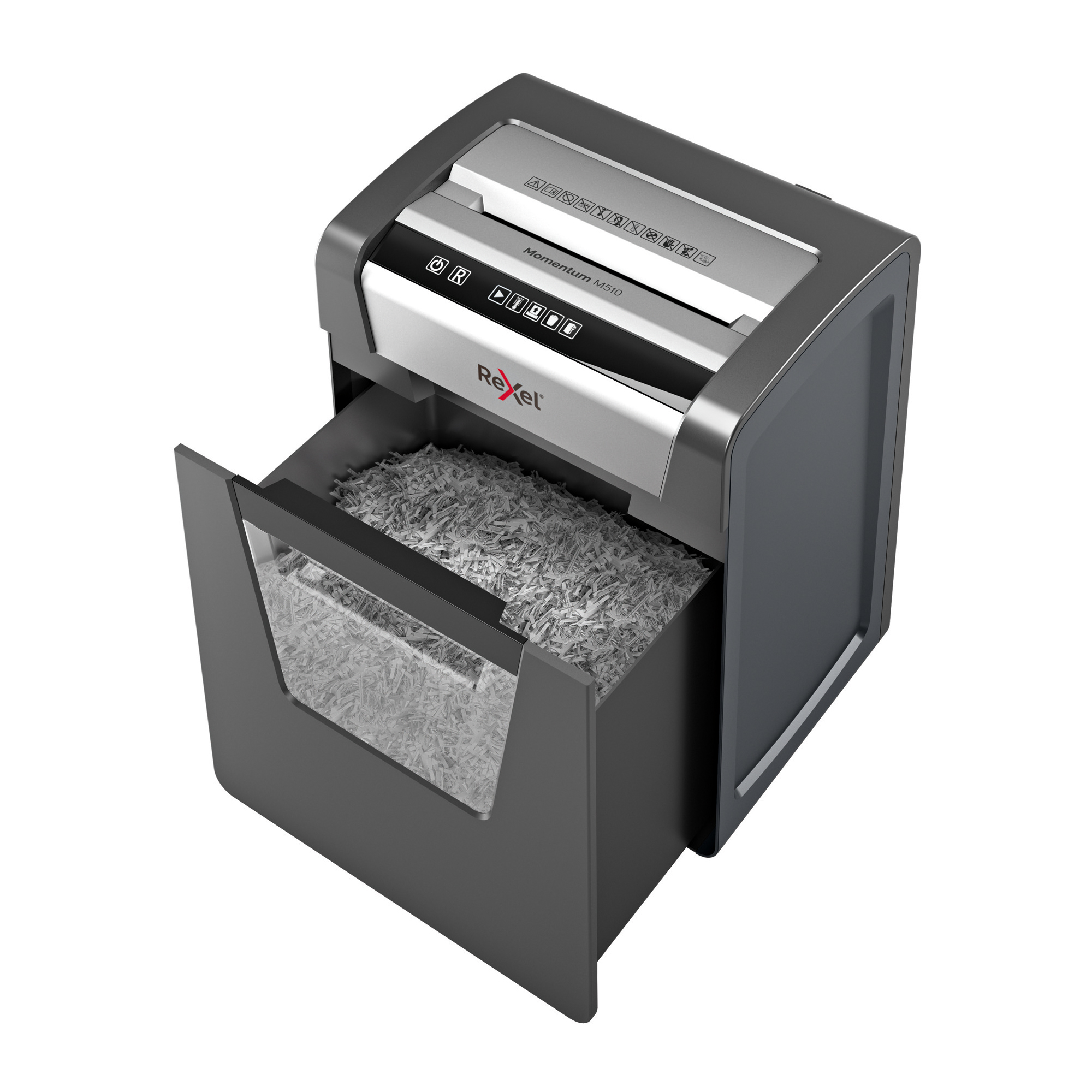 Rexel Momentum M510 Shredder 2x15mm Micro Cut P-5 2104575 Ref 2104575 [REDEMPTION] Jul-Sep19