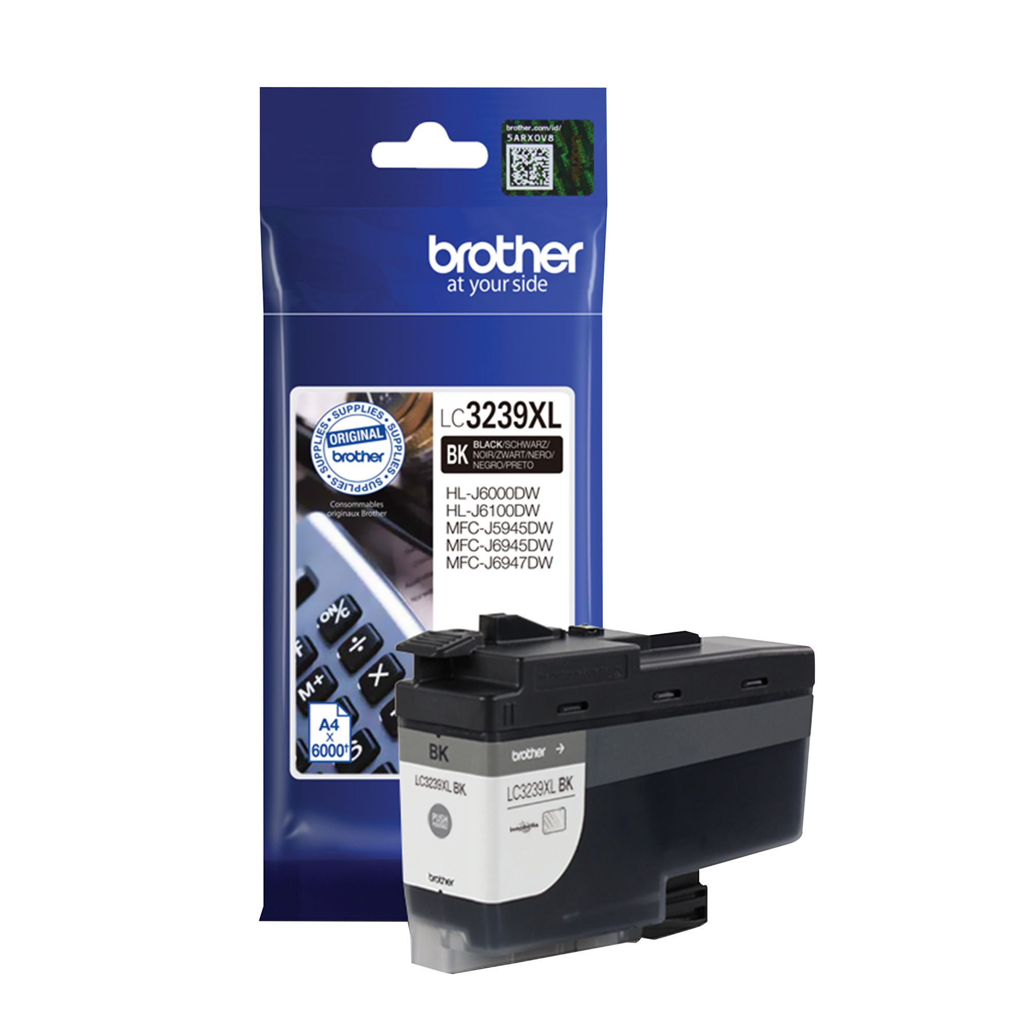 Brother LC3239XLBK Black Ink HY Cart