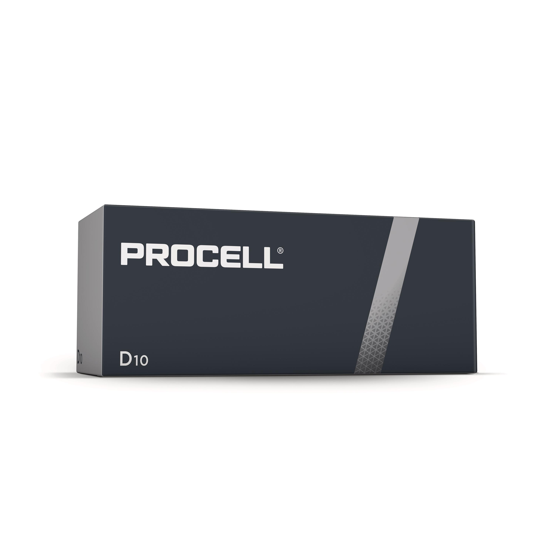 Duracell Industrial Battery Alkaline 1.5V D Ref 81451917 Pack 10