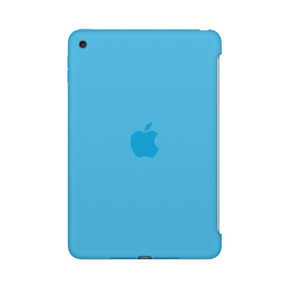 Image for Apple iPad Mini 4 Silicone Case Blue Ref MLD32ZM/A