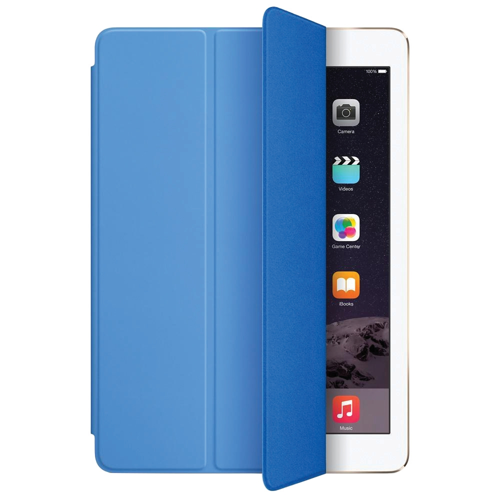 Image for Apple iPad Air Smart Cover Blue Ref MGTQ2ZM/A