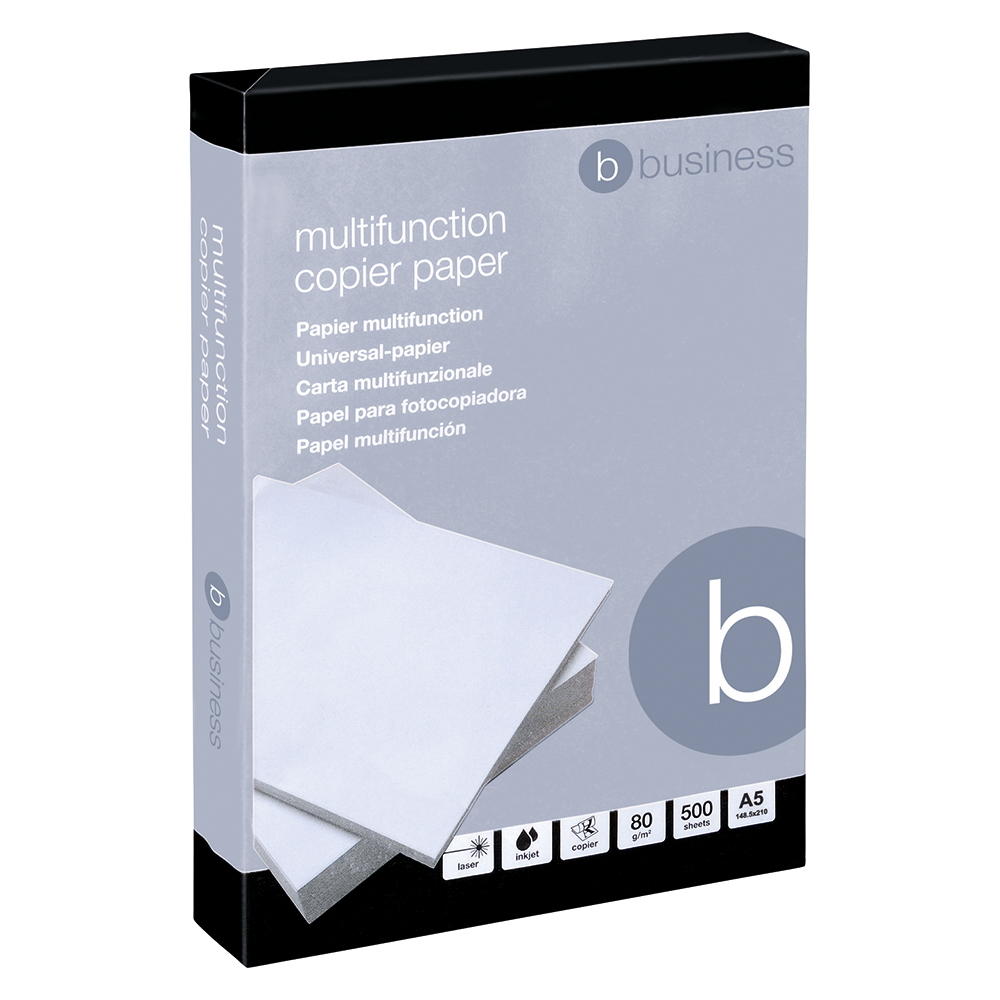 Business 80gsm A5 Paper [500 Sheets]
