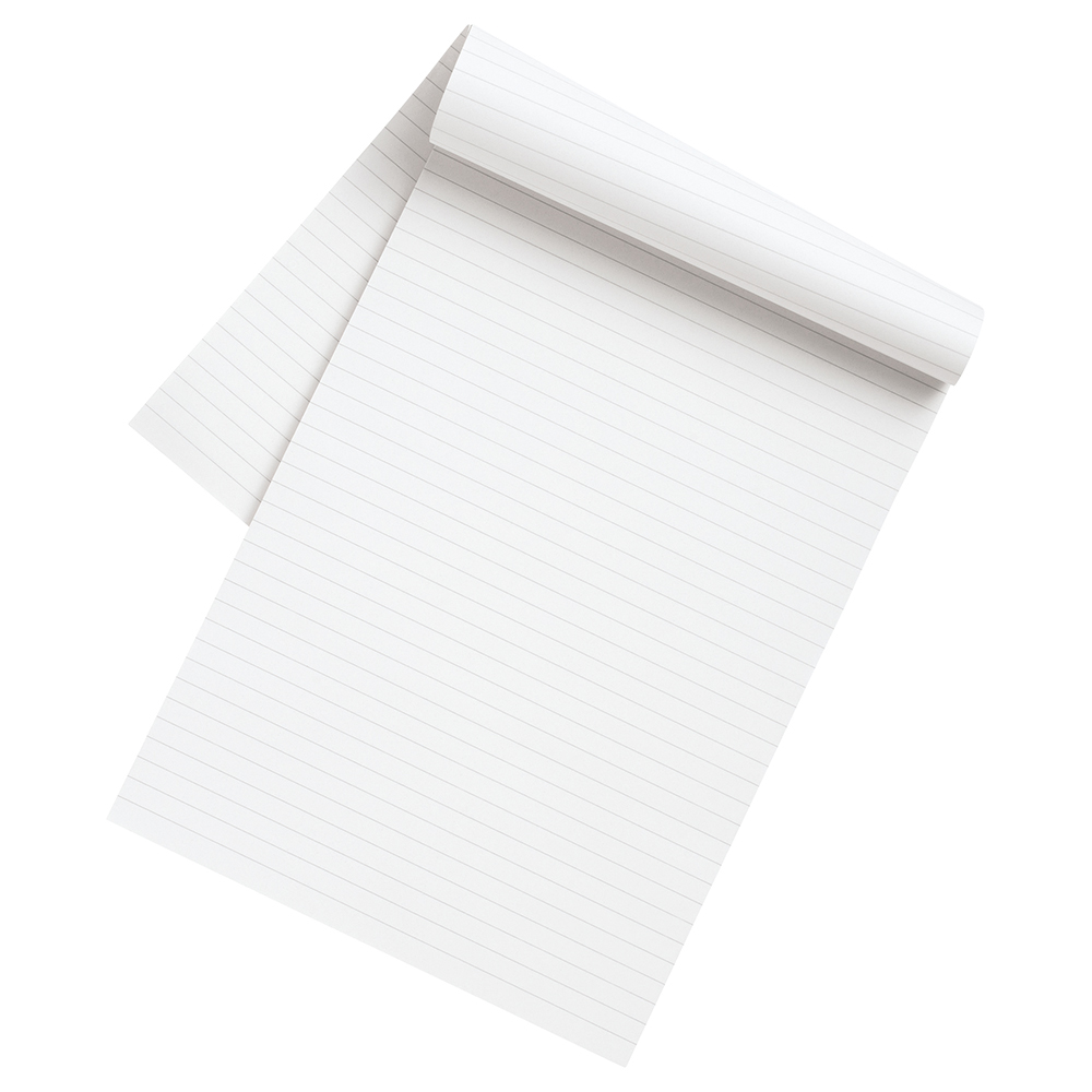 Image for Business Eco Recycled Memo Pad Ruled A4 [Pack 10]