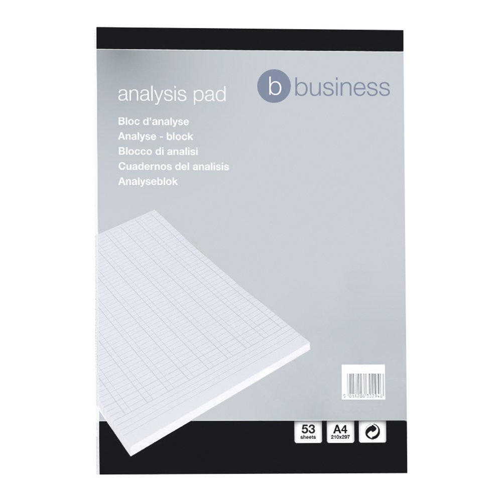 Business Analysis Pad Query/Answer Accounting 53 Weeks A4 White