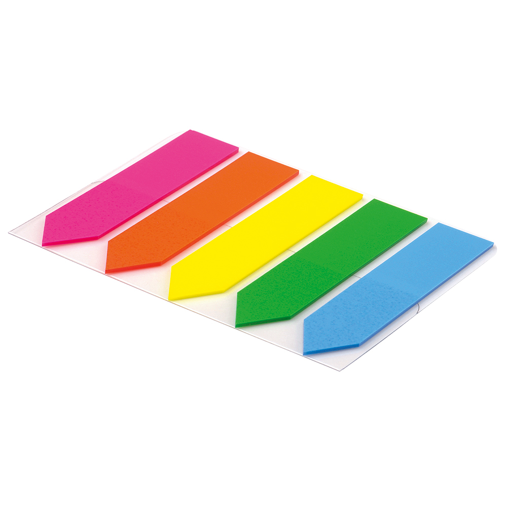 Business Index Flags Arrows 25mm Assorted [Pack 5]