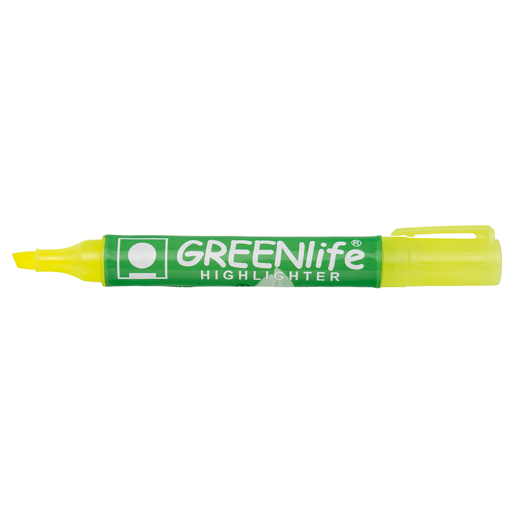 Business Eco Highlighter 1-5mm Line Yellow [Pack 10]
