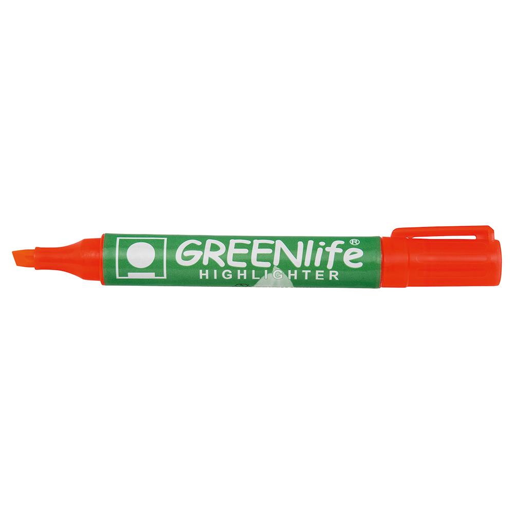 Business Eco Highlighter 1-5mm Line Orange [Pack 10]
