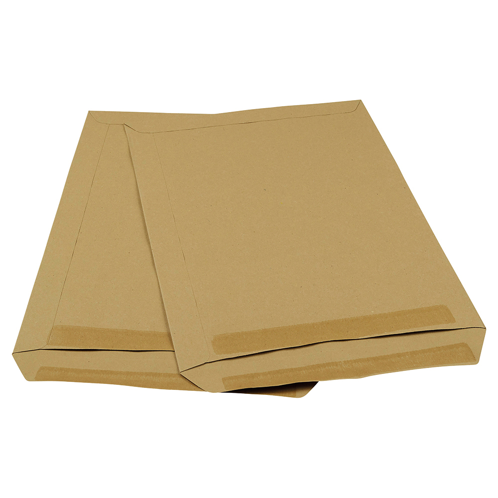 Image for Business Envelopes Mediumweight Pocket Self Seal Window 90gsm Manilla C4 [Pack 250]