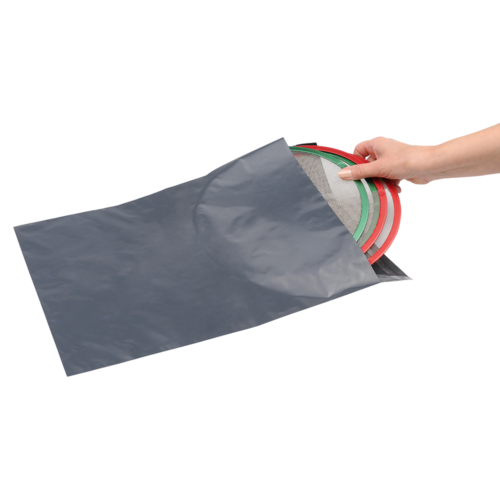 Image for Business Premium Envelopes Extra Strong Waterproof Polythene Peel & Seal Opaque 335x435mm [Pack 100]