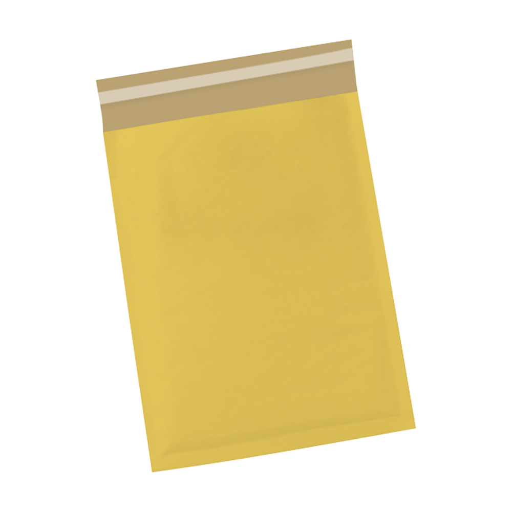 Image for Business Bubble Bags Peel and Seal No.00 Gold 115x195mm [Pack 100]