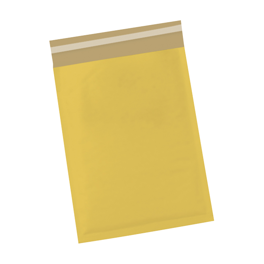 Image for Business Bubble Bags Peel and Seal No.0 Gold 140x195mm [Pack 100]