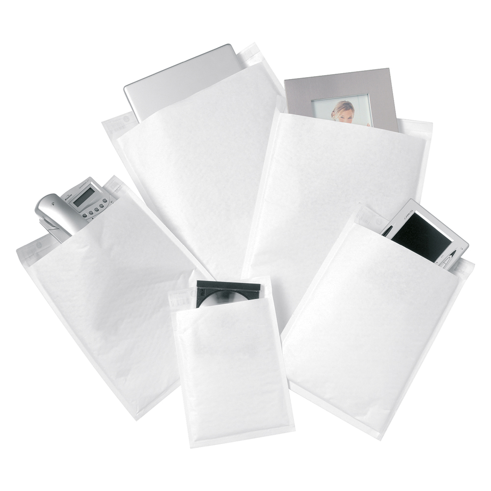 Image for Business Bubble Bags Peel and Seal No.1 White 170x245mm [Pack 100]
