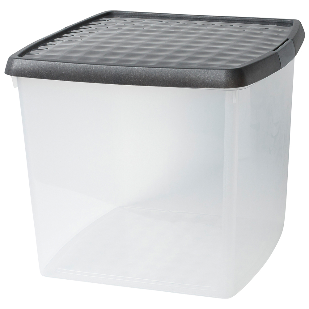 Business Premium Clip Box Plastic 37 Litre